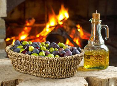 Il nostro olio extra-vergine d'oliva